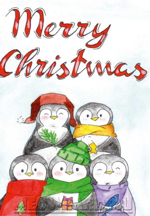 Novogodnie-pingviny