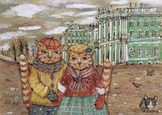 Pafnutij-i-Glasha-u-Ermitazha-540x386